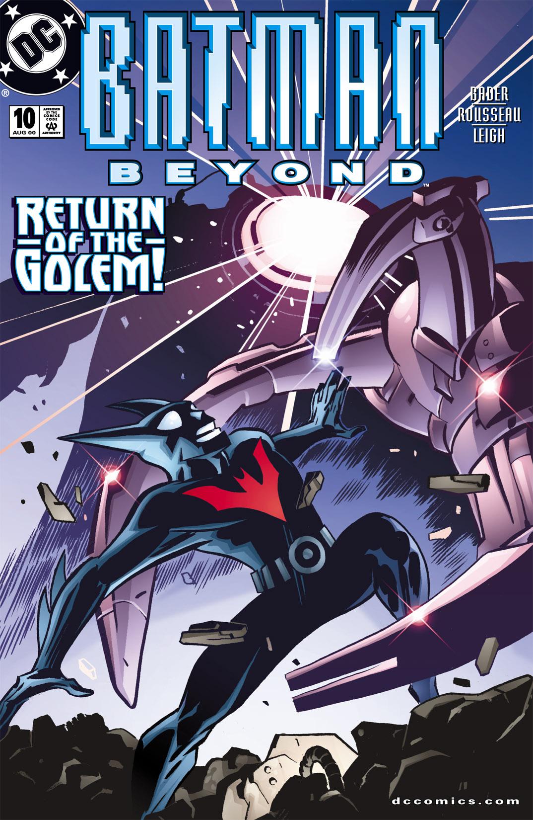 Batman Beyond [II] 10 Page 1