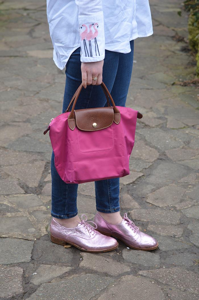 flamingo shirt topshop fashion bloggers