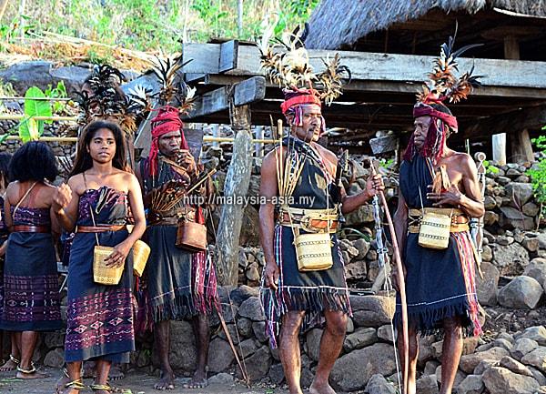 Alor Island Ethnic Tribe