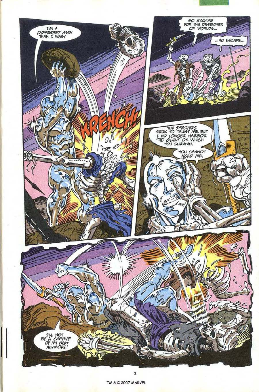 Read online Silver Surfer (1987) comic -  Issue #63 - 5