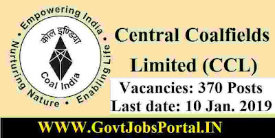 India Coalfield Recruitment