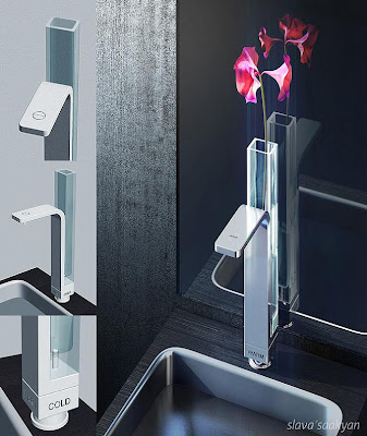 Creative Bathroom Faucets and Modern Kitchen Faucets (15) 6