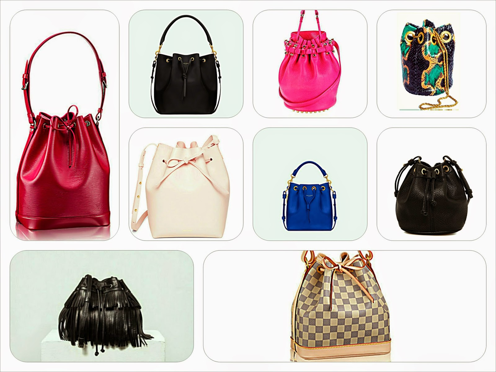 Bucket Bag Selection