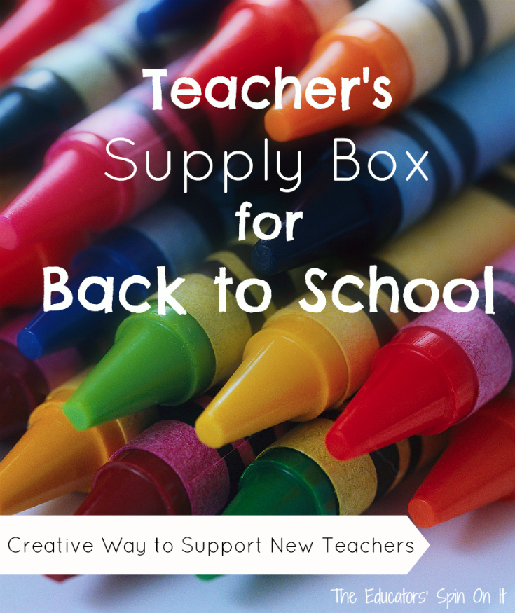Teacher School Supply Box