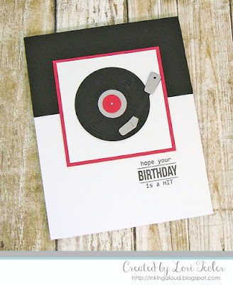 Hope Your Birthday Is a Hit card-designed by Lori Tecler/Inking Aloud-stamps and dies from SugarPea Designs