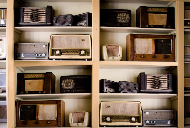 Image: Vintage Radios, by Rudy and Peter Skitterians on Pixabay