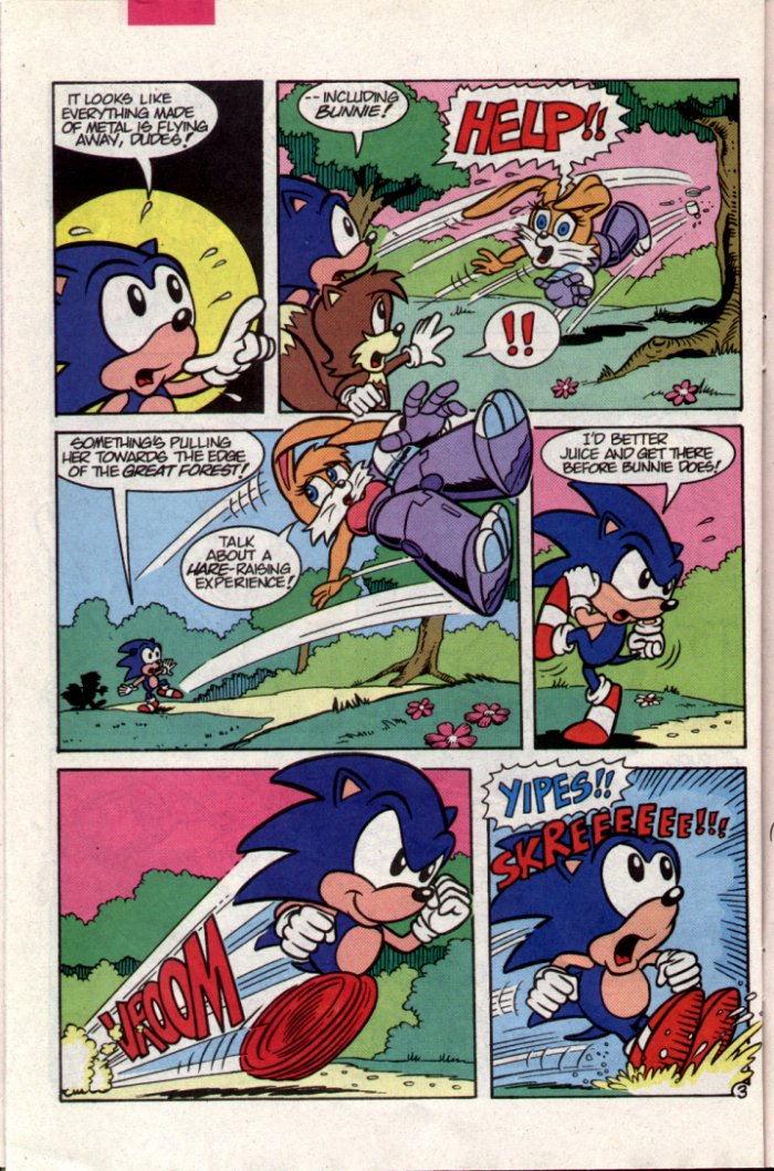 Read online Sonic The Hedgehog comic -  Issue #15 - 22