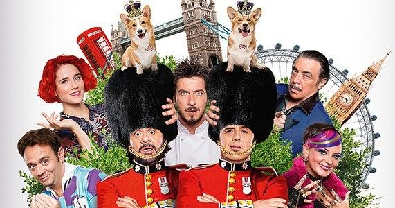 Natale a Londra, l'accozzaglia irriverente del cinema comico italiano.