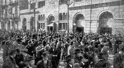 Fachada de la Sala Imperio en Barcelona