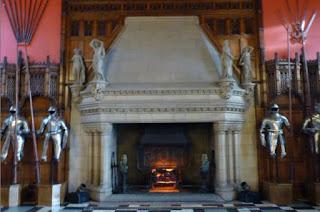 Greal Hall o Gran Salón del Castillo de Edimburgo.