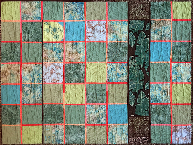 """Turtle Quilt"" by  Lucinda Walker"