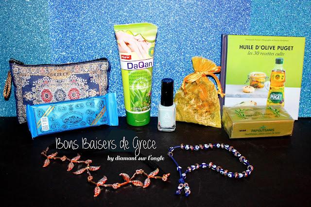 concours produits ramenés de Grèce