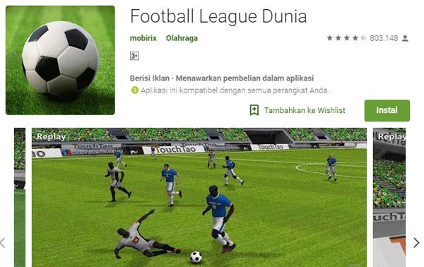 main game bola pes tanpa pakai kuota atau data