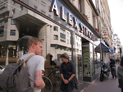 Alex Singer shop in Paris, France