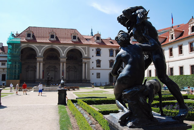 les jardins Wallenstein Prague