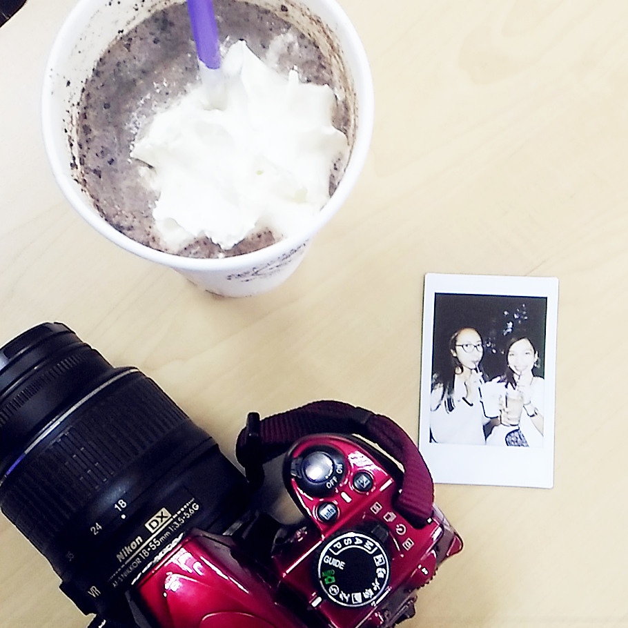 Coffee Bean and Tea Leaf Ice Cream Iced Blended, CBTL drinks,