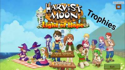 Cara Mendapatkan Semua Trophy Harvest Moon: Light of Hope