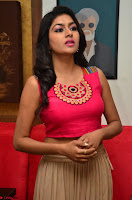 Akshita super cute Pink Choli at south indian thalis and filmy breakfast in Filmy Junction inaguration by Gopichand ~  Exclusive 047.JPG
