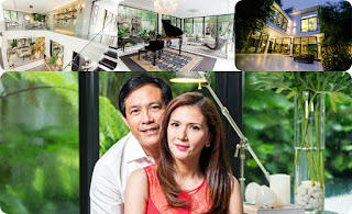 A Home for A Queen.  ZsaZsa Padilla Modern Asian Mansion