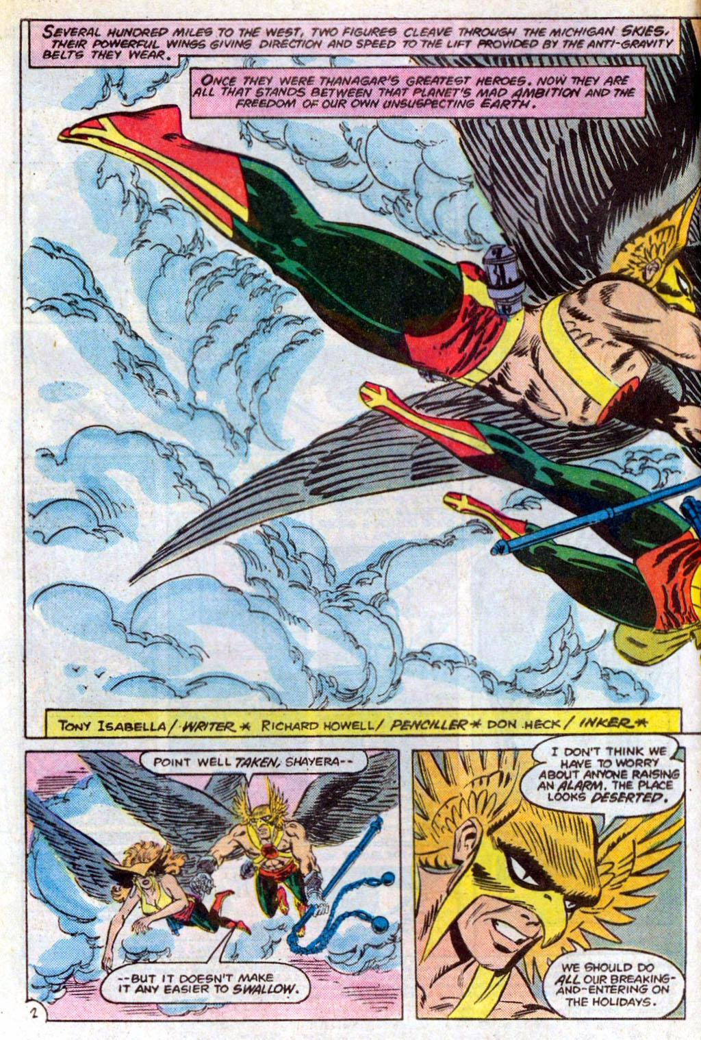 Hawkman (1986) Issue #3 #3 - English 5
