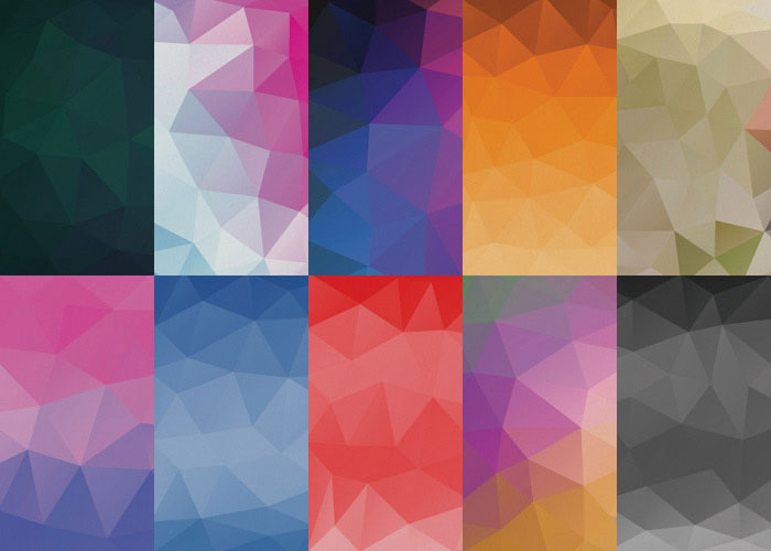 10 Free Geometric Abstract Backgrounds