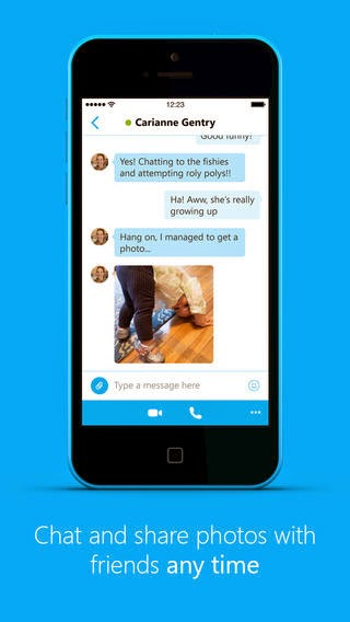 Skype Has Launched a New Redesigned Version for iOS App