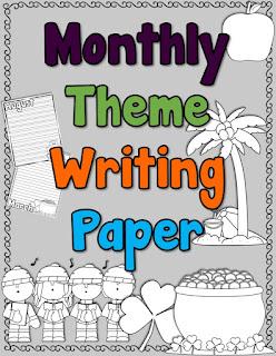 https://www.teacherspayteachers.com/Product/Monthly-Theme-Writing-Paper-3178587