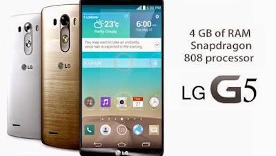 LG G5 Available for pre-order in the UK, priced at £539