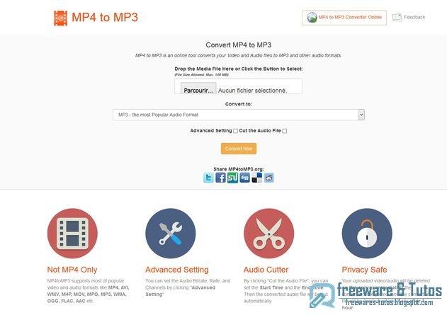 MP4ToMP3.org : un outil en ligne pour convertir vos vidéos et musiques