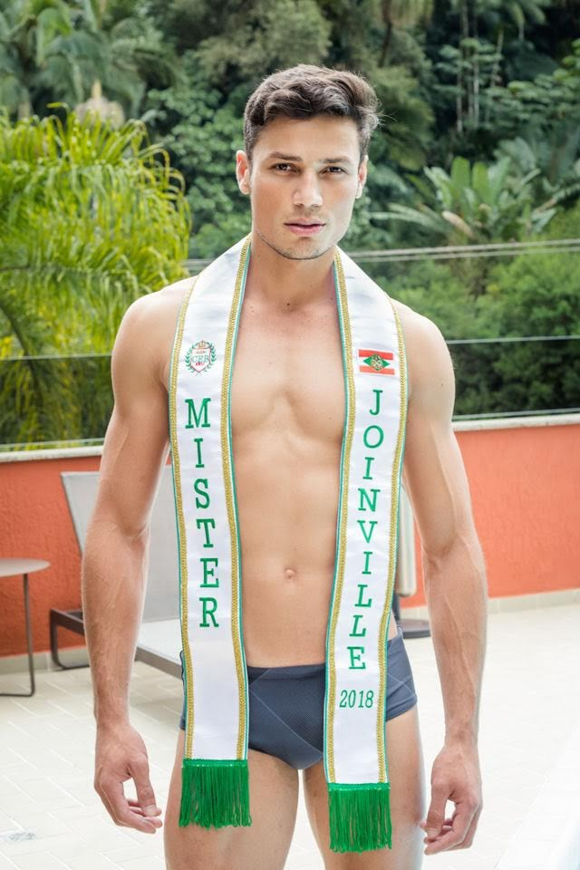 Hernane Prado, Mister Joinville 2018. Foto: Jaque Cemin