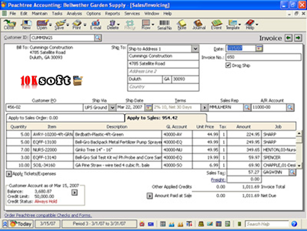Peachtree 2005 Free Download