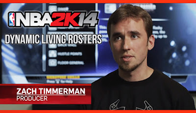 NBA 2K14 To Include Dynamic Living Rosters Feature (Video)