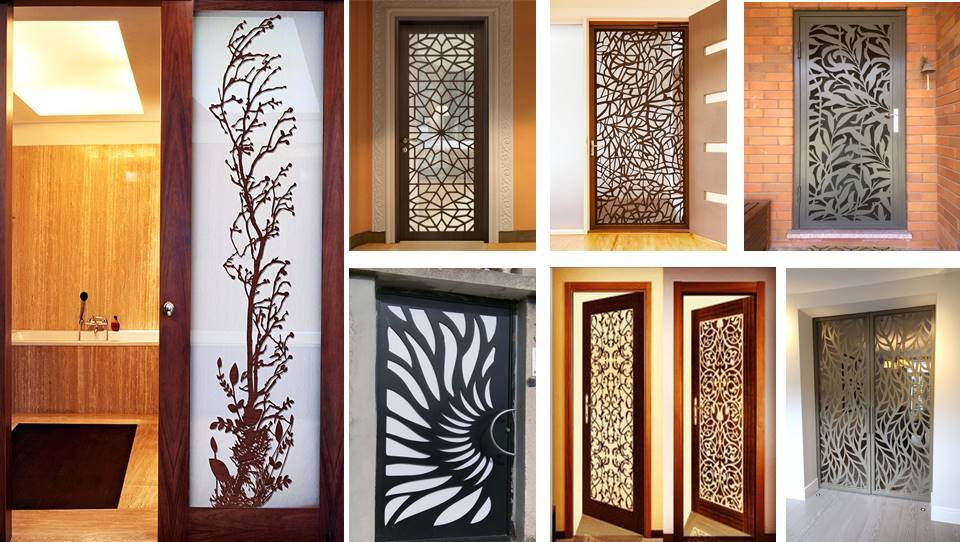 Cnc wooden doors design ideas decor units for Door design cnc