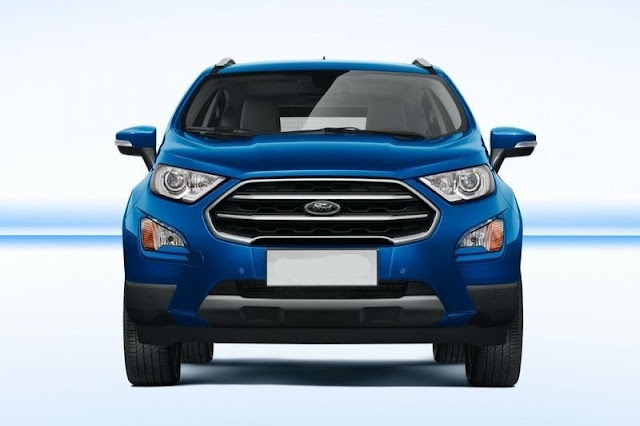 New 2017 Ford EcoSport front look Hd image