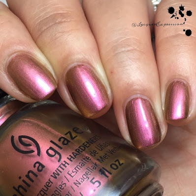 Nail polish swatch of Cabin Fever by China Glaze