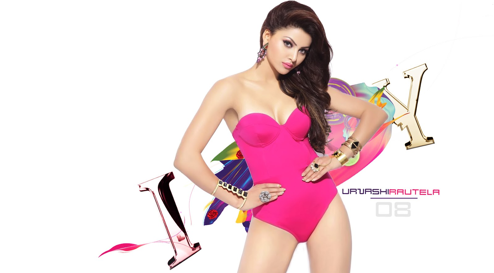 Urvashi Rautela Hot Bikini 1080p Hd Wallpaper Images