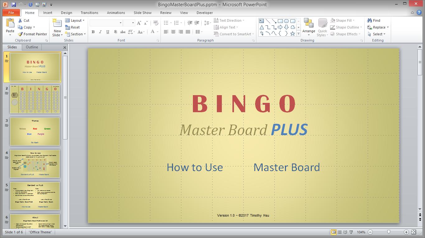 master - Bingo Master Board & Bingo Master Board PLUS BingoScreenshot1