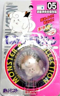 Clefairy figure Tomy Monster Ball Collection series