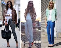 Resultado de imagen de pantalon chandal con tacones