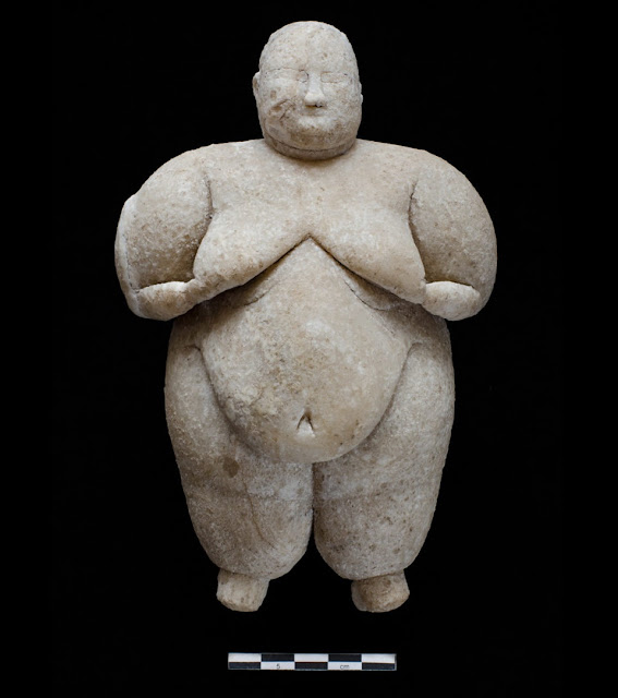 More on 8,000 year old 'goddess figurine' found in central Turkey