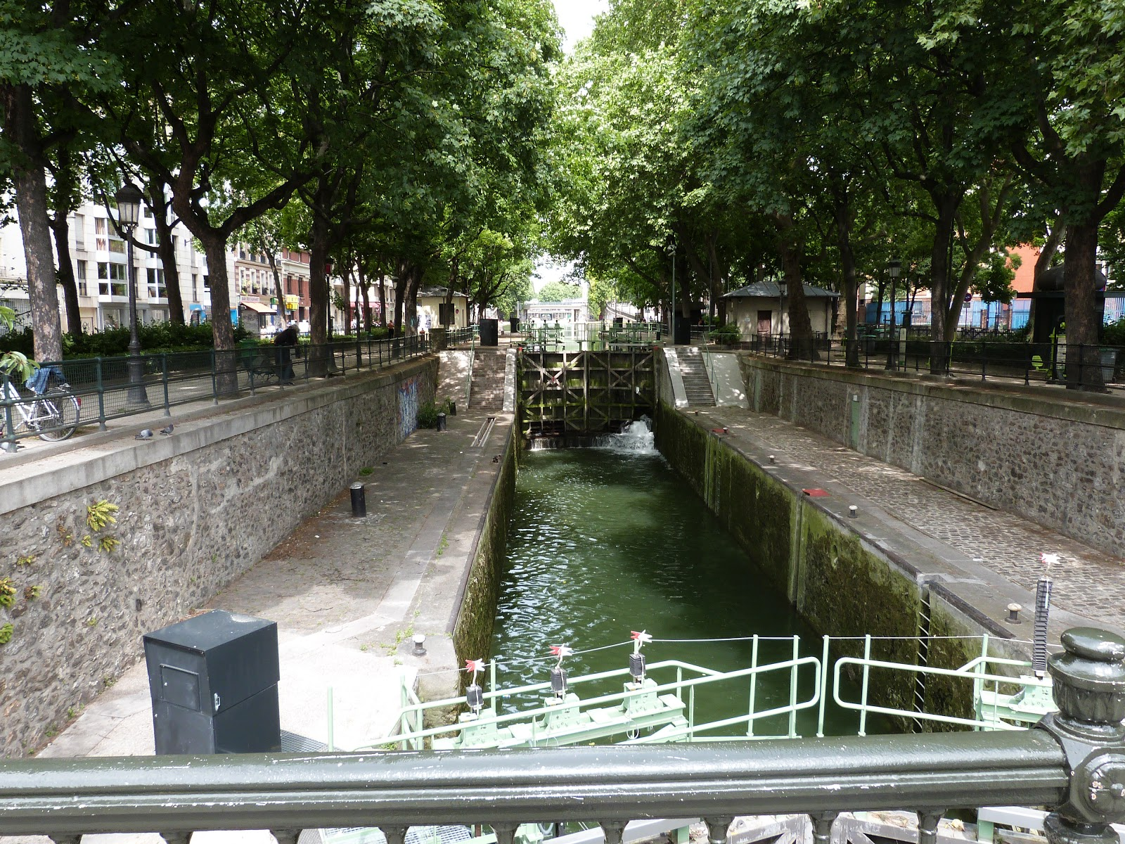Canal Saint Martin, Paris