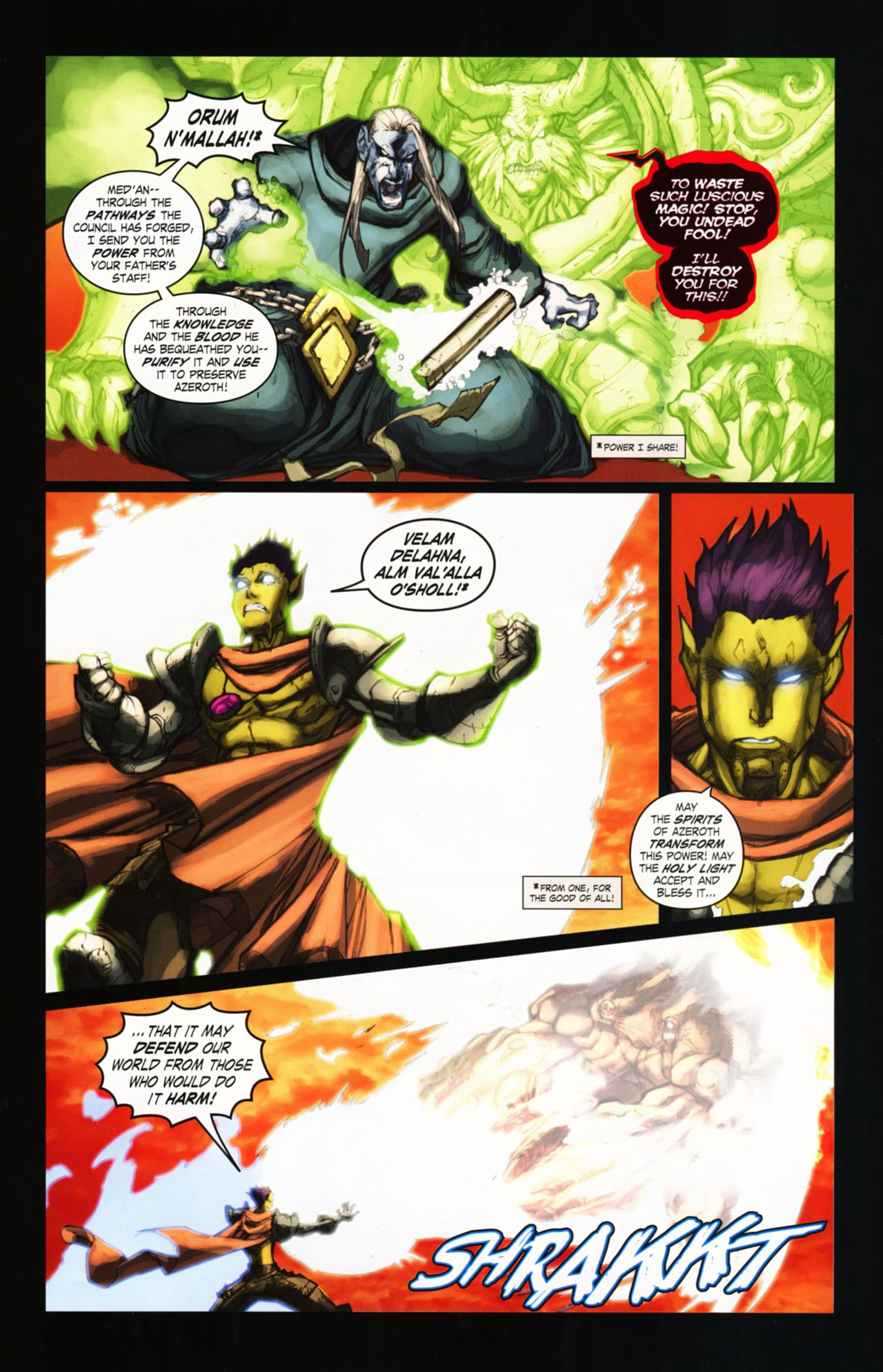 Read online World of Warcraft comic -  Issue #25 - 26