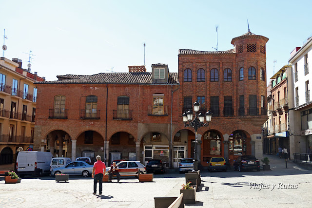 Plaza Mayor de Benavente, Zamora