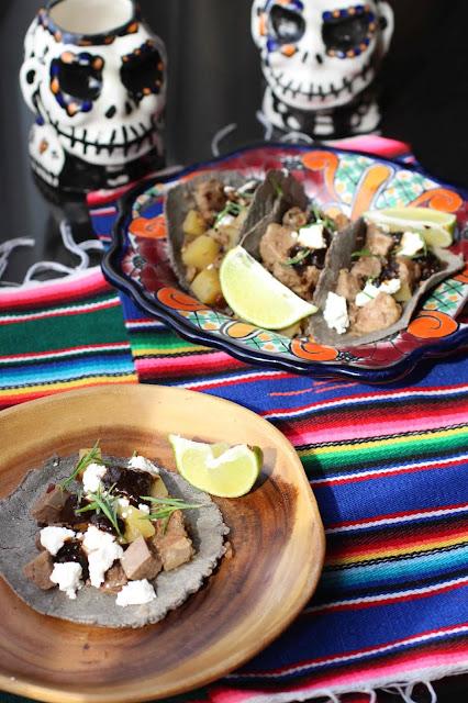 tacos langue preparation