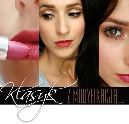 Alina Rose Blog Kosmetyczny Makijaż Klasyczny Czerwone Usta I Kreska