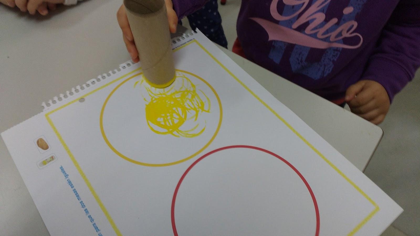 Materiales para educaci n infantil for Materiales para pintar un mural