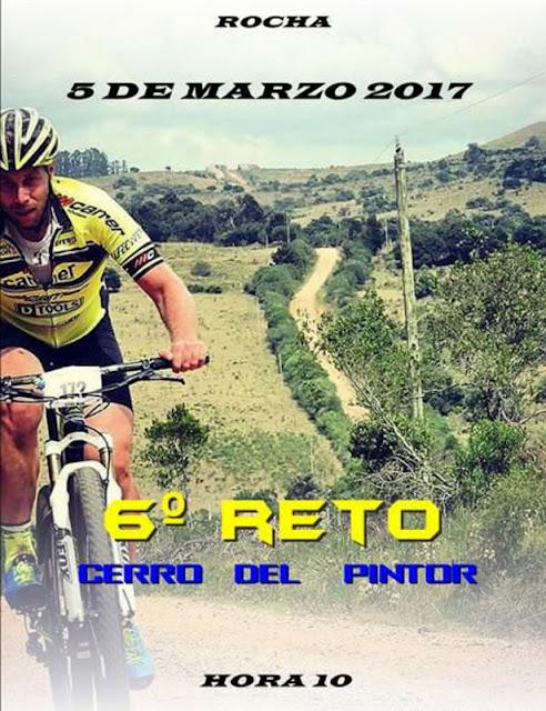 MTB - Cerro del pintor (Rocha, 05/mar/2017)