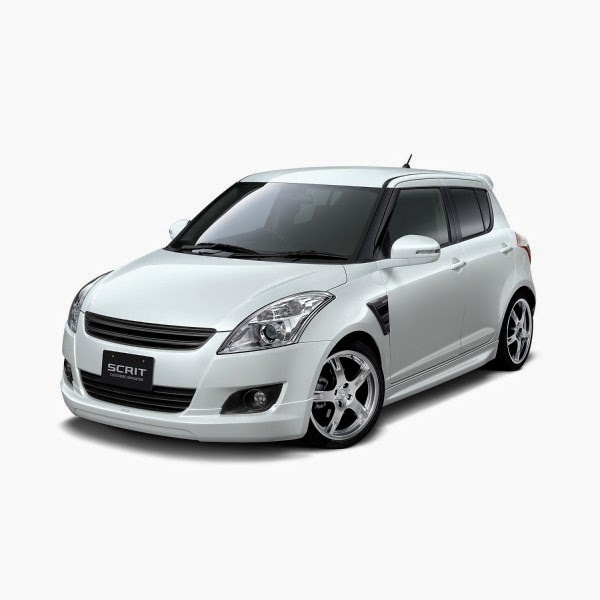 Body Kit Suzuki Swift Scrit 2012-2014