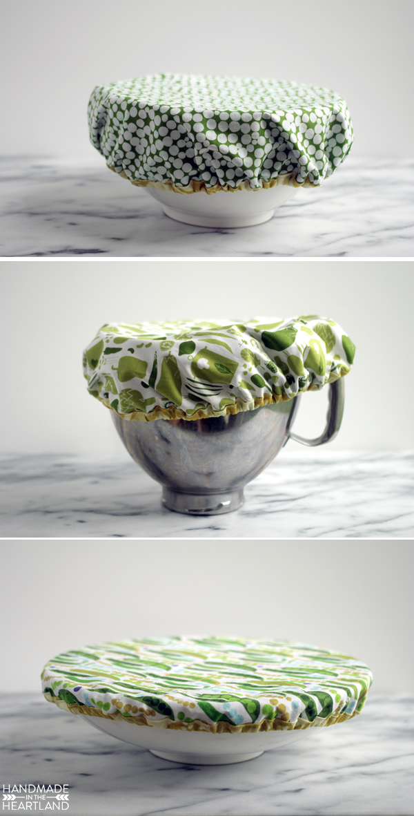 How to Make A Mixing Bowl Cover