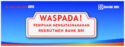 Daftar Web/blog Penipuan Atas Nama Bank BRI